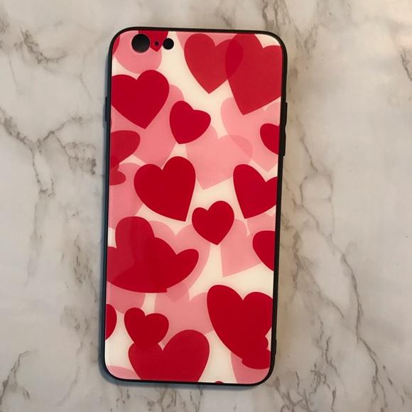 Accessories - iPhone 6 Plus Heart Phone Case